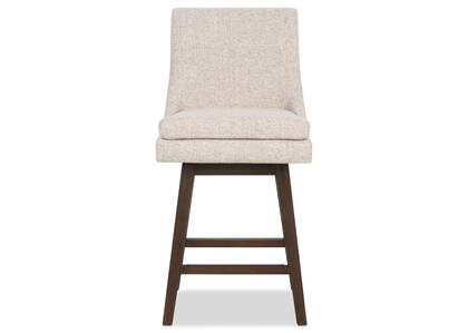 Helena Swivel Counter Stool -Marlo Sand