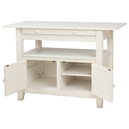 Cantina Ext Counter Table -Prairie White