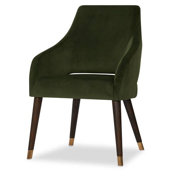 Chaise Fabian -Lauryn vert olive