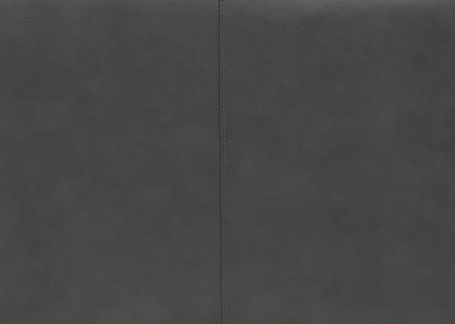 Canapé inclinable cuir Reese -Arlo fumée