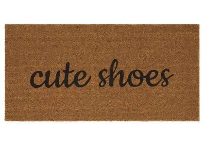 Paillasson Cute Shoes naturel