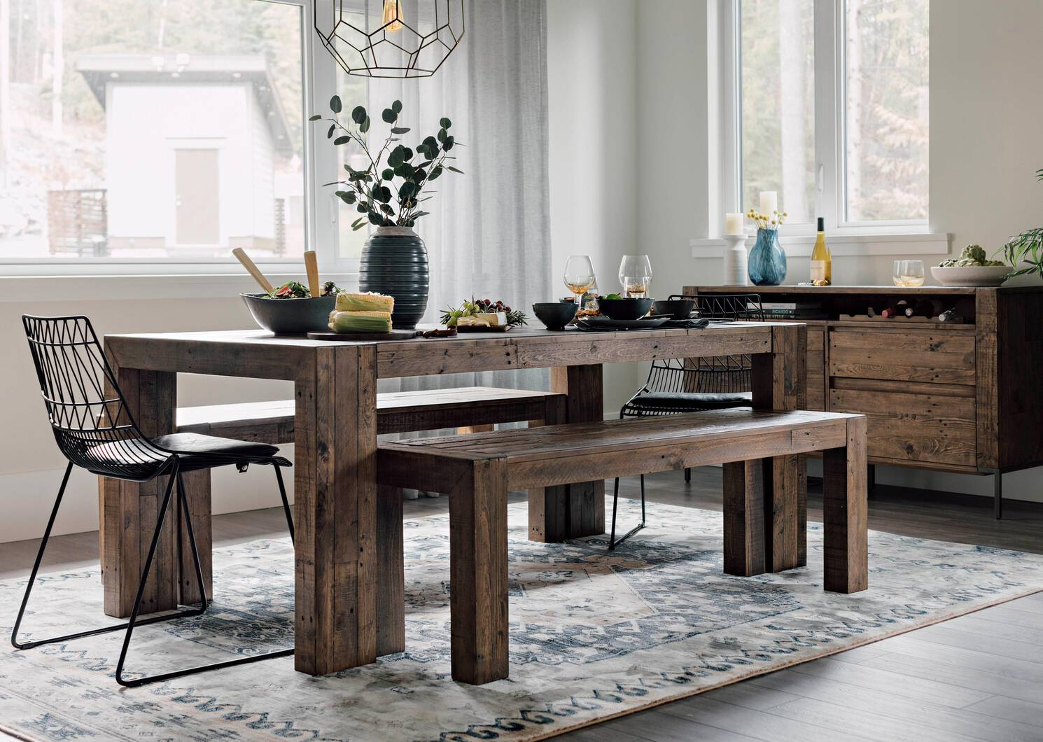 Morris Dining Table -Guthrie Sand