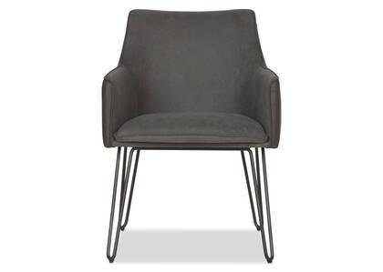 Gabbi Arm Dining Chair -Scott Grey