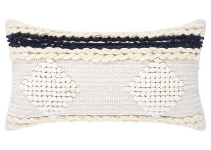 Cordoba Toss 12x22 Ivory/Atlantic
