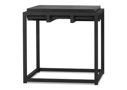 Crete Square Side Table -Ida Black