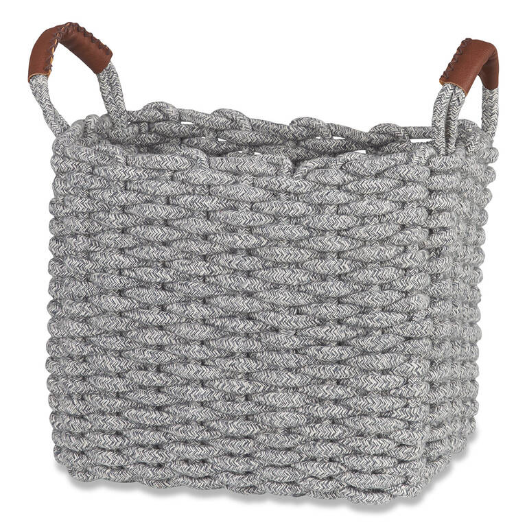 Corde Melange Basket Small Grey