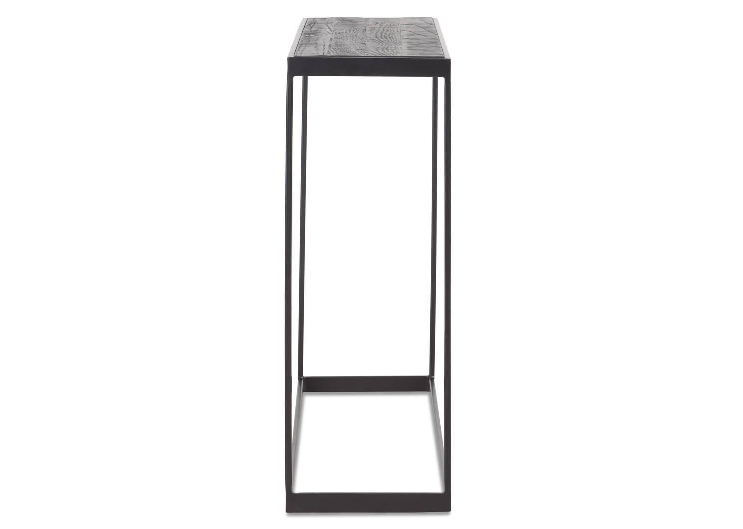 Table console Madera -chêne noir