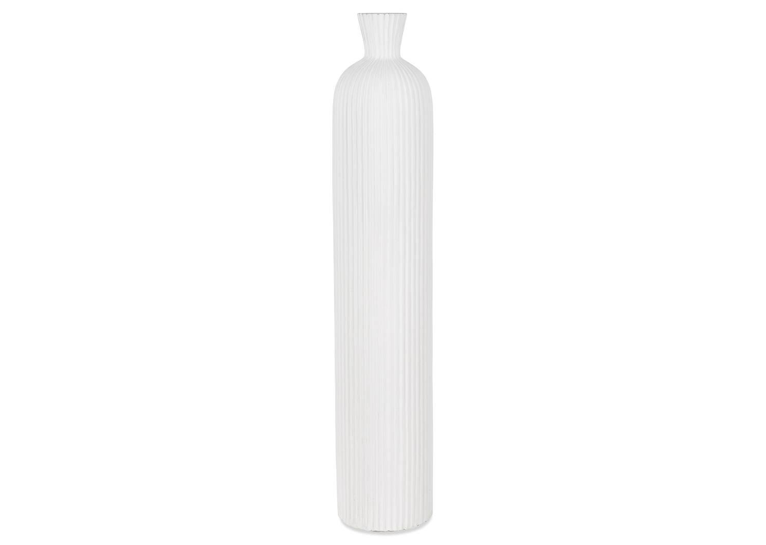 Grand vase Blaire blanc
