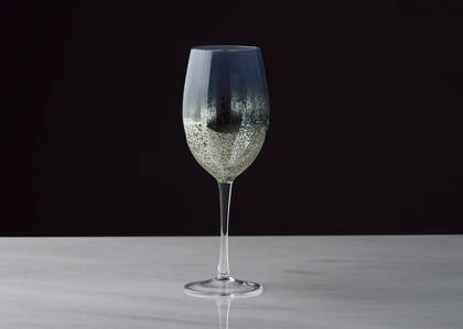 Rhapsody Wine Glass Blue/Haze