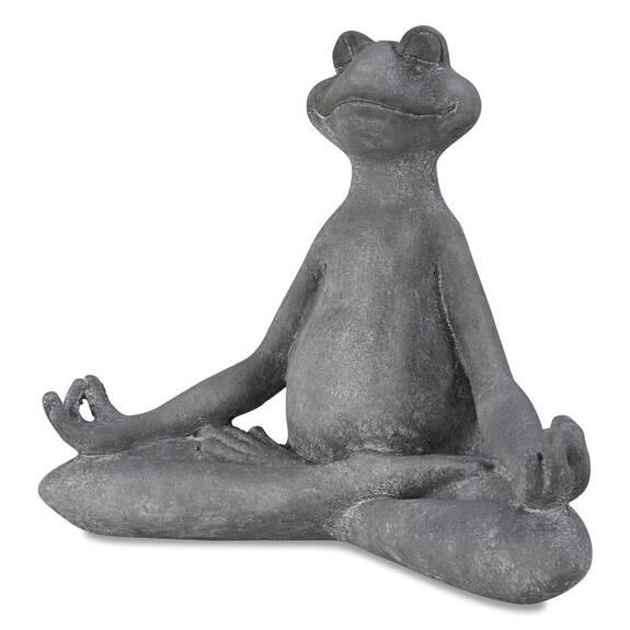 Asana Yoga Frog Mudra Hands Grey