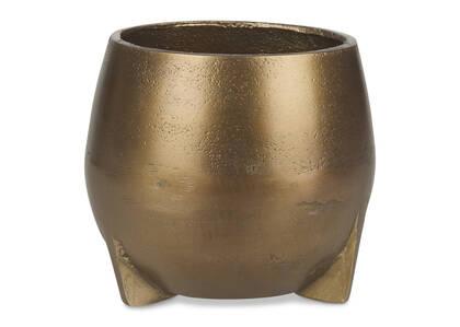 Novah Planter Small Gold