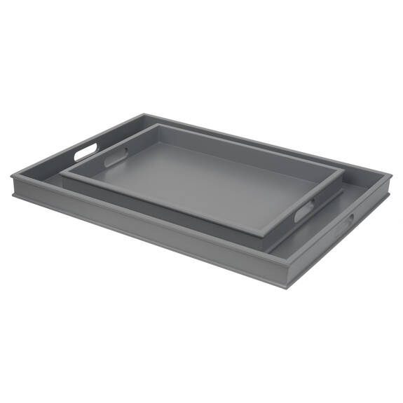 Montreal Trays - Cool Grey
