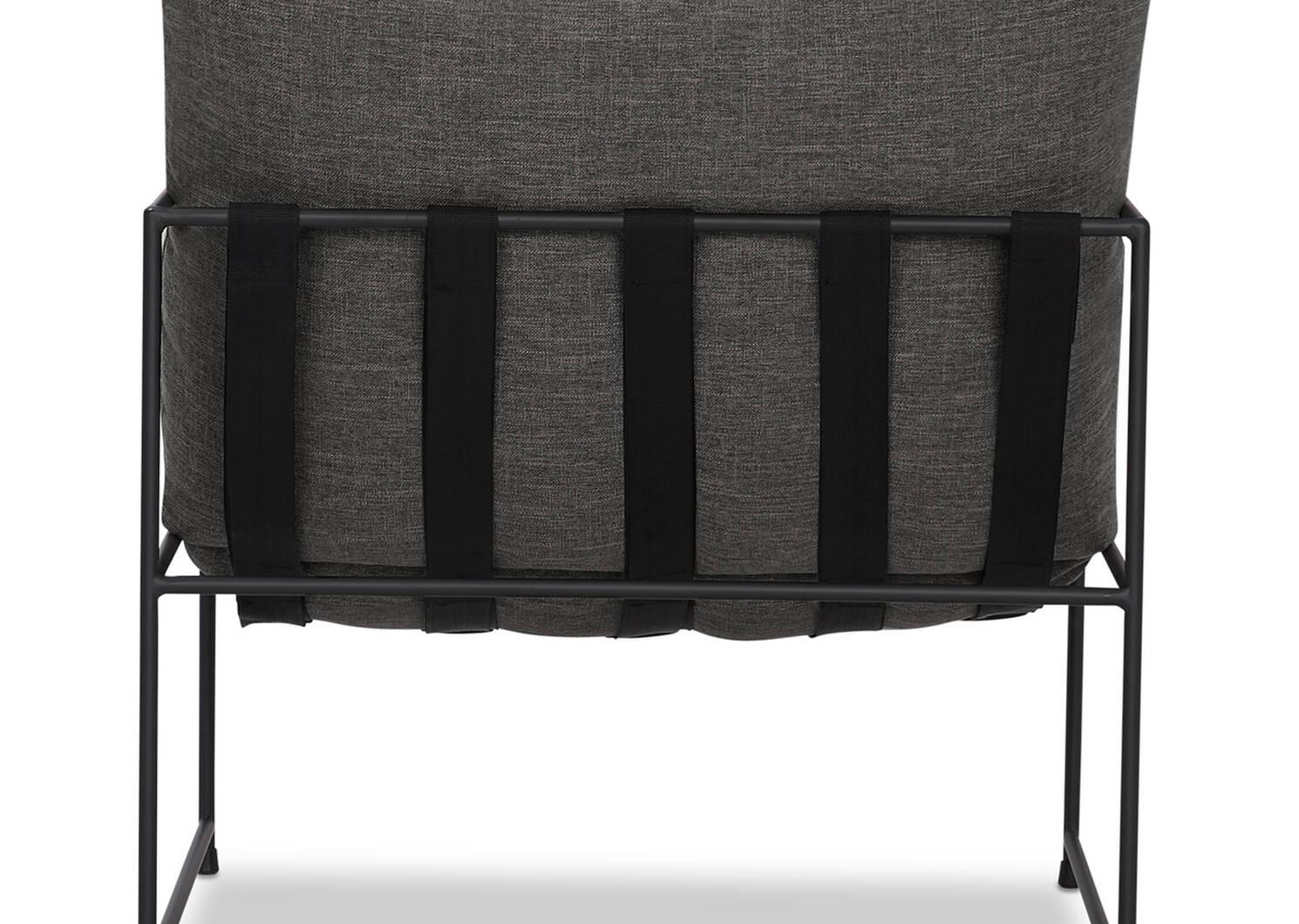 "Mondo Chair 28"" -Uno Pewter"