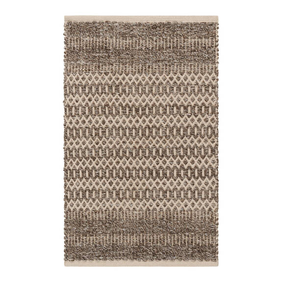 Dev Accent Rug - Brown