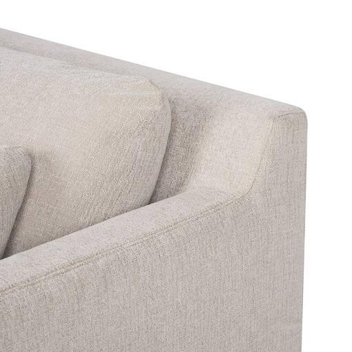 Seneca Slip Cover Sofa -Rogen Stone