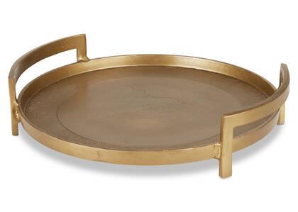 Damara Tray Gold