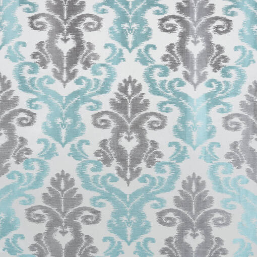 Maxine Panel 96 Silver/Turquoise