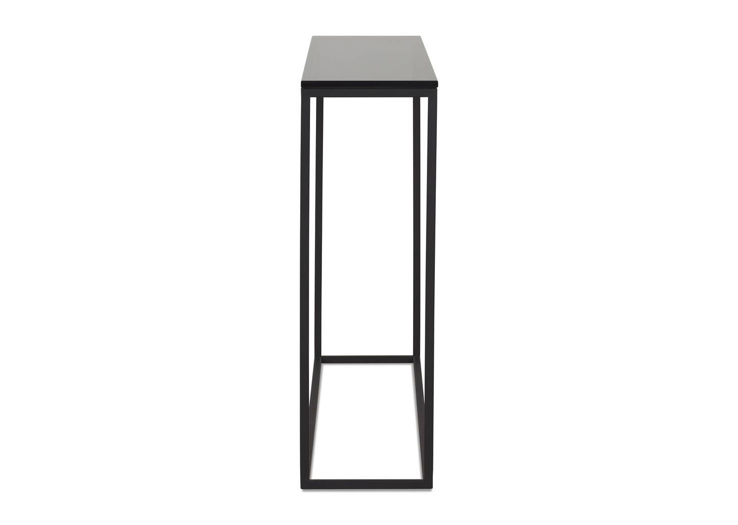 Duet Narrow Console Table -Smoke
