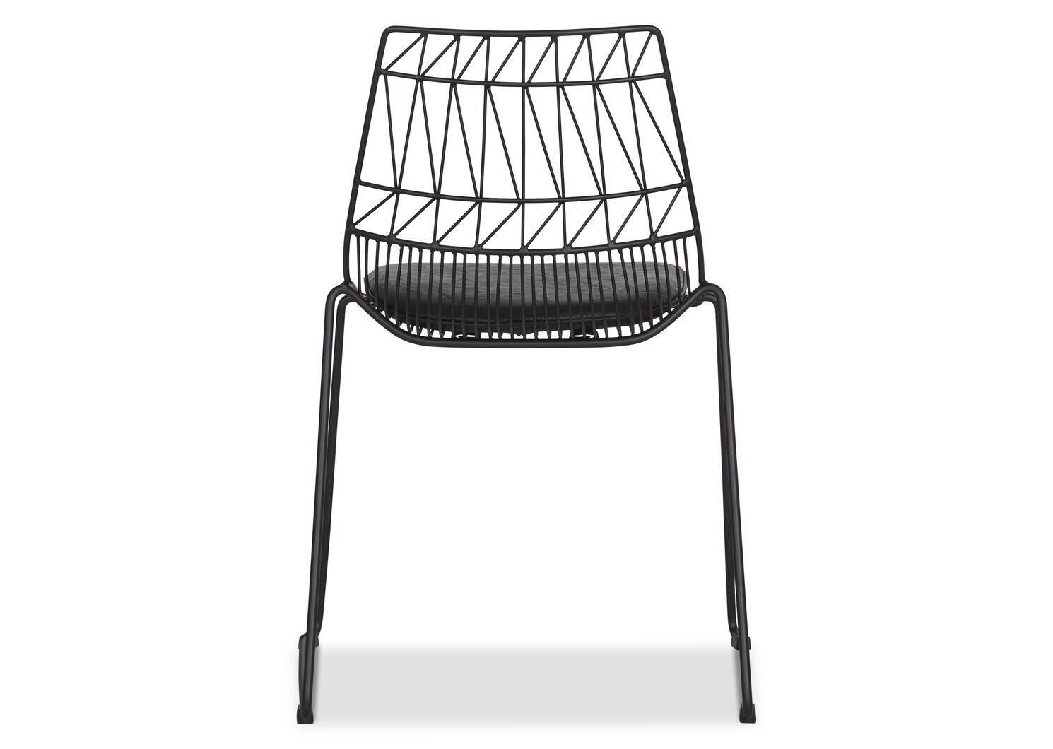 Zola Dining Chair -Ari Black