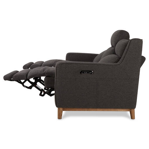 Sanibel Reclining Sofa -Brava Charcoal
