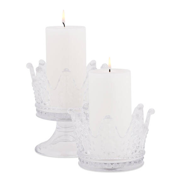 Tiana Crown Candle Holders