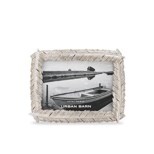 Plume Frame 5x7 Silver