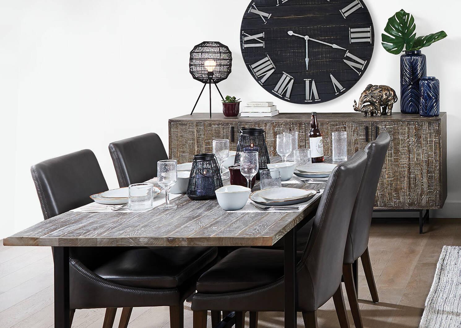 Madera Dining Table 72 Oak Bay Urban Barn