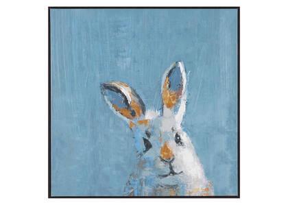 Rascal Bunny Wall Art