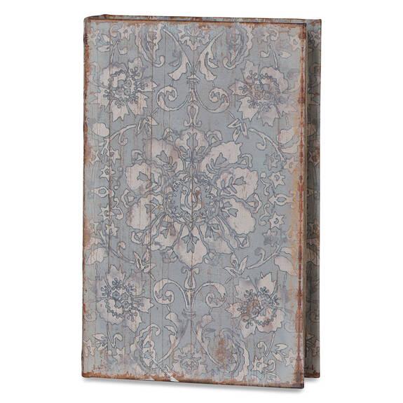 Fresco Book Box Medium Blue Sage/Pond