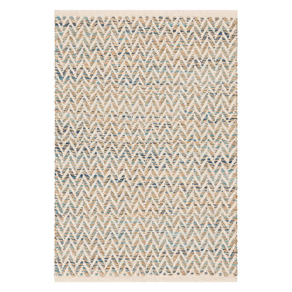 Eos Accent Rug - Natural/Surf/Tide