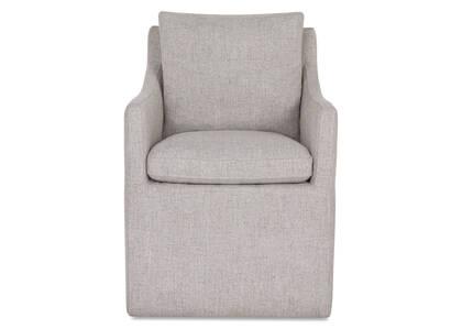 Chaise d'hôte Armand -Cyrilo argenté