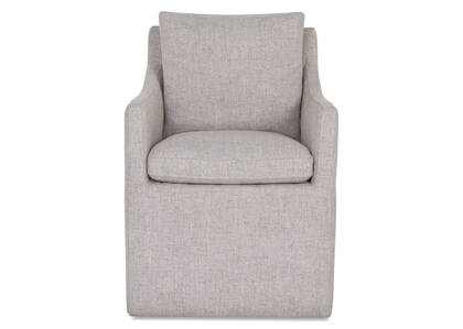 Armand Host Chair -Cyrilo Silver