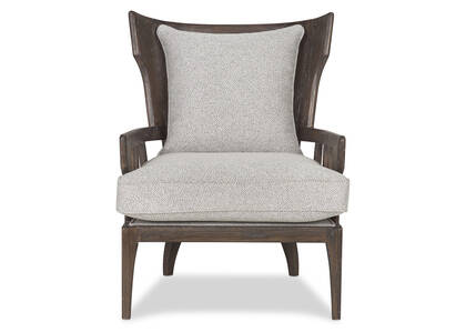 Tisdale Armchair -Halo Pebble