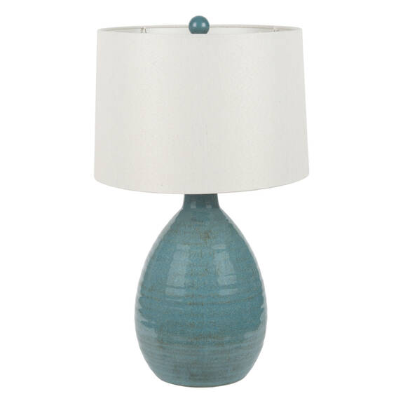 Salma Table Lamp Turquoise