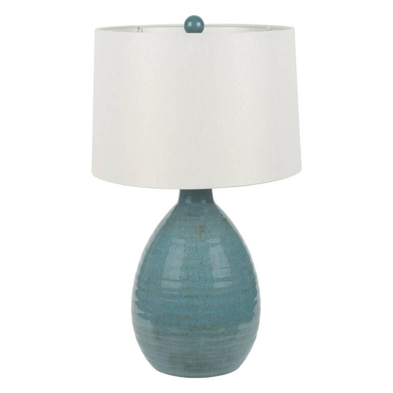 Salma Table Lamp Turquoise