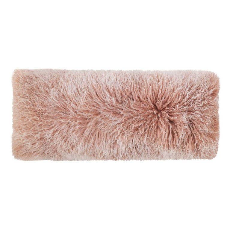 Mongolian Snowy Toss 14x36 Ballet Pink