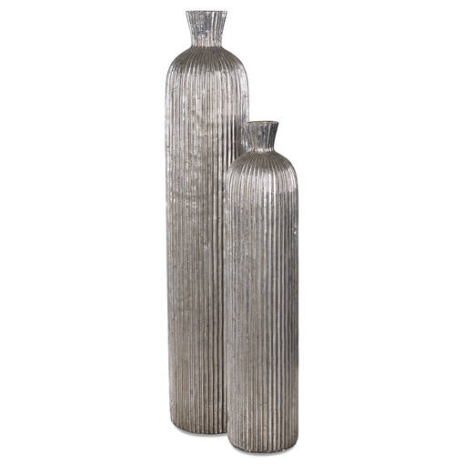 Blaire Vases -Silver
