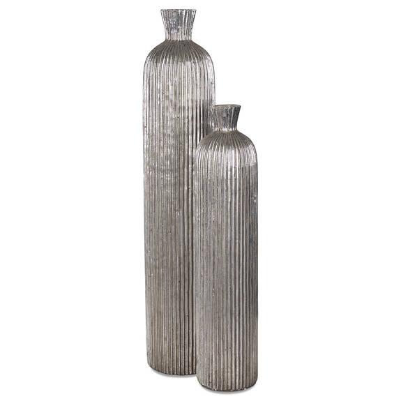 Vases Blaire -argentés