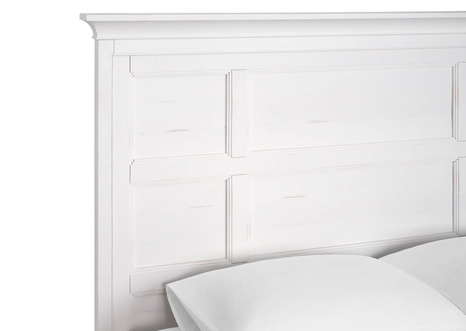 Parker Storage Bed -Heron White