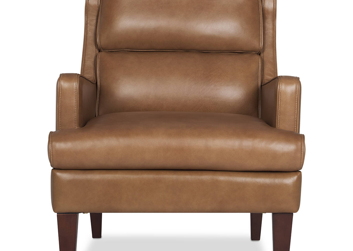 Idris Leather Armchair -Mira Rum
