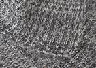 Henning Cotton Throw Dark Grey/Natura