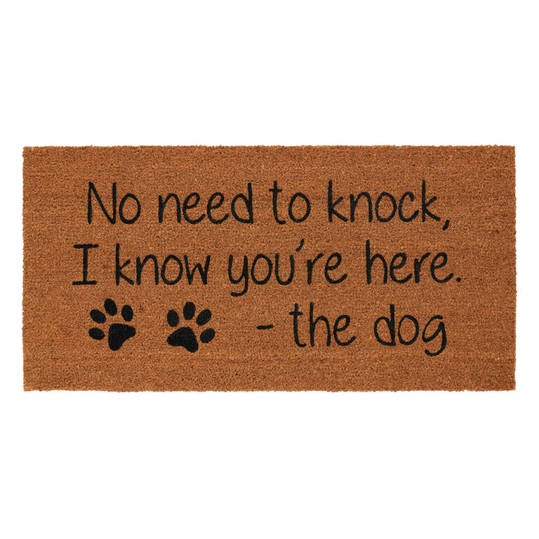 No Need to Knock Doormat