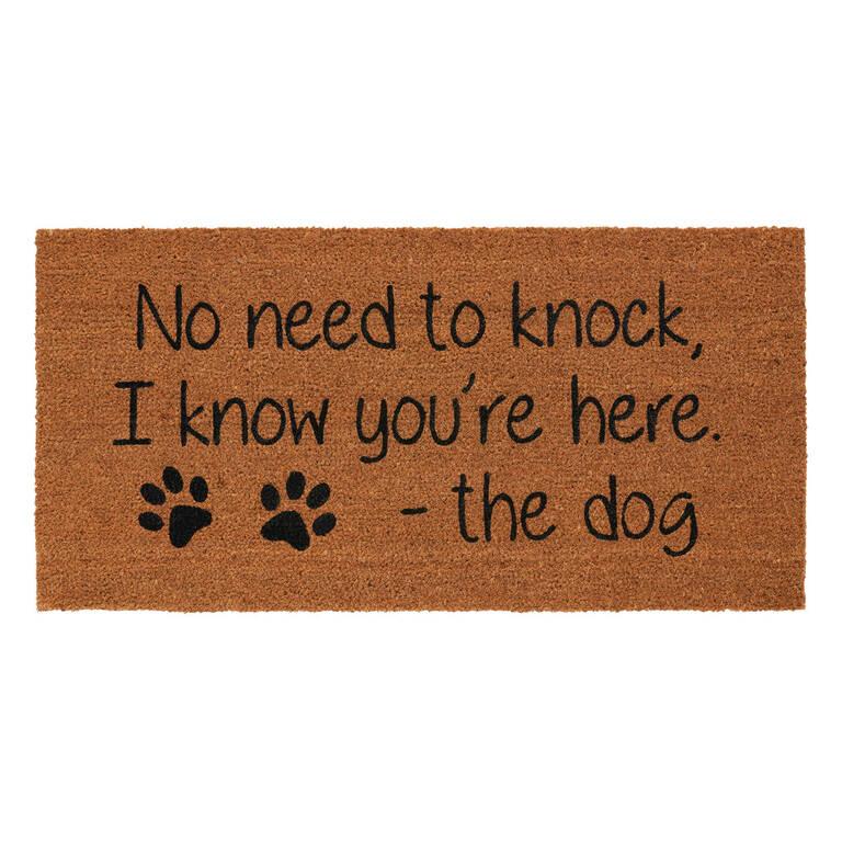No Need to Knock Doormat