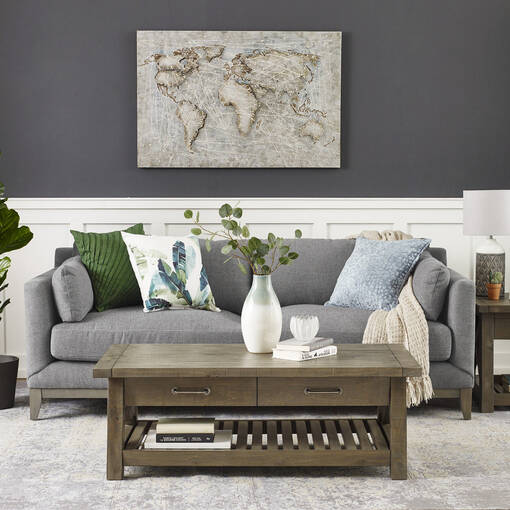Ryerson Sofa -Aros Granite