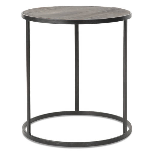 Madera Round Side Table -Oak Bay