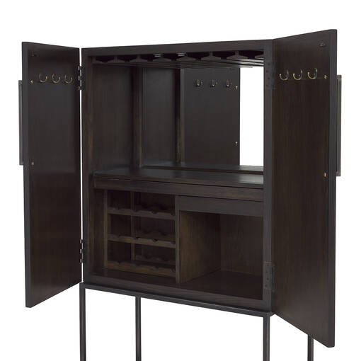 Easton Wine Cabinet -Piper Elm