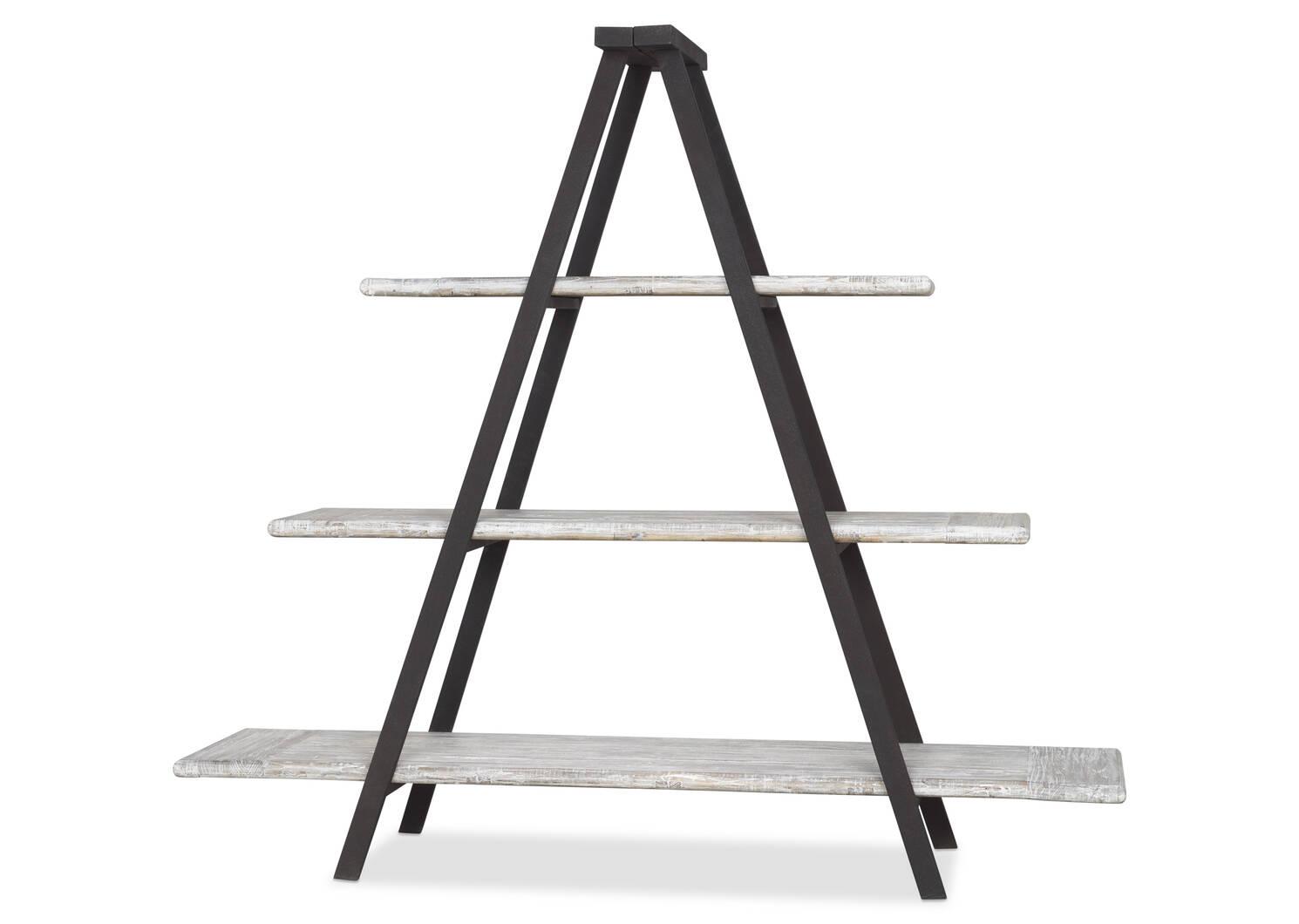 Logan Display Shelf -Weathered Haze