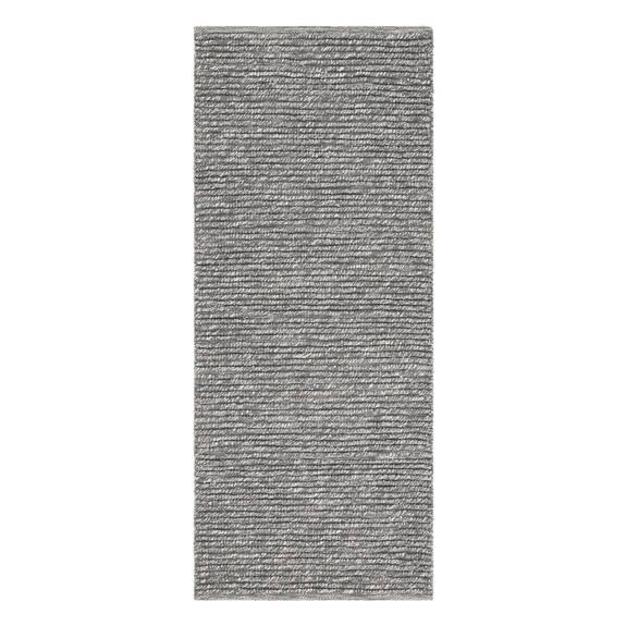 Tapis de couloir Mya 30x84 gris