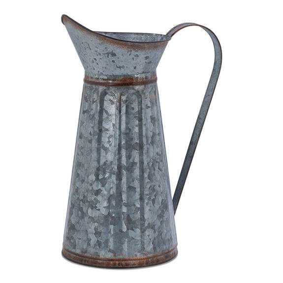 Avery Metal Pitcher Vase