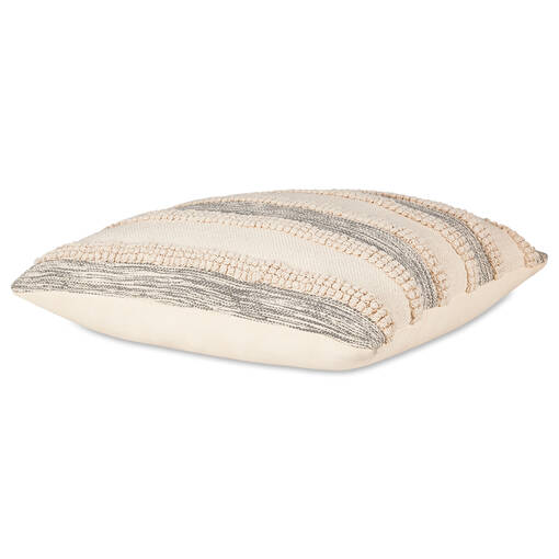 Pena Floor Cushion Natural/Grey